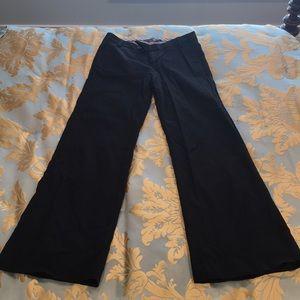 Wide leg gap dress pants
